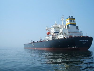 STX BUILT 74,000 MT DWT CRUDE/PRODUCT OIL TANKER PANAMAX TYPE / ICE CLASS 1A